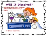 Will It Dissolve? A Science Center
