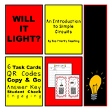 Circuits - Will It Light Activity with QR Codes