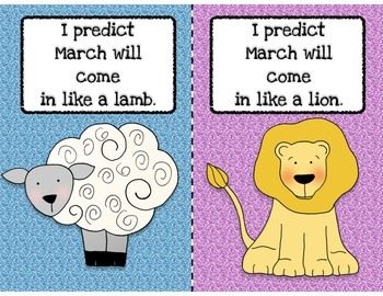 Will March Come In Like A Lion or a Lamb?  Graphing Activity