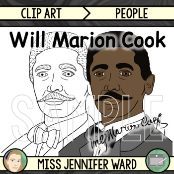 Will Marion Cook Clipart