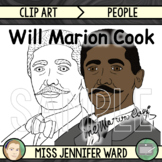Will Marion Cook Clip Art