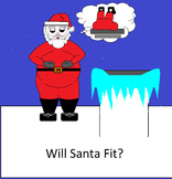 Sub Plans Predict if Santa Will Fit? Worksheets