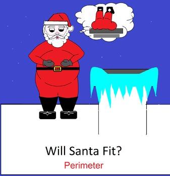 Christmas Sub Plans Scientific Method and Perimeter Worksheet