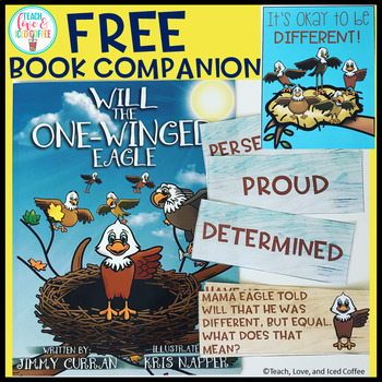Will The One-Winged Bird FREE Book Companion