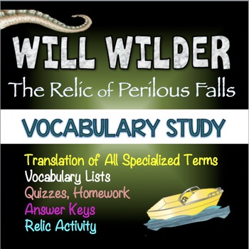 Will Wilder and the Relic of Perilous Falls: Vocabulary Study