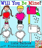 Will You Be Mine- Clip Art for Teachers