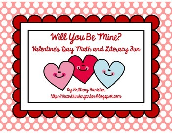 Will You Be Mine?  Valentine-Themed Literacy Station Activities