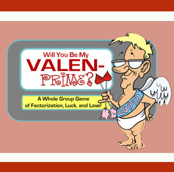 Will You Be My Valen-Prime? Class Game (GCF, LCM, & Factorization!)