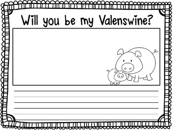Will You Be My Valenswine?