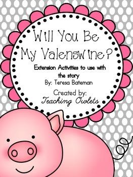 Will You Be My Valenswine? by Bateman - Literature Unit