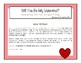 Will You Be My Valentine? Customizable Board Game SLP Articulation & More!