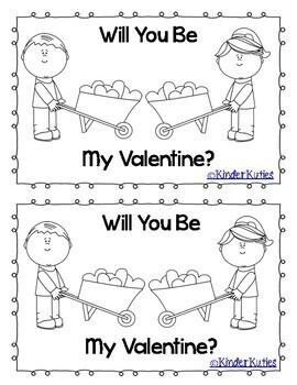 Will You Be My Valentine? Emergent Reader