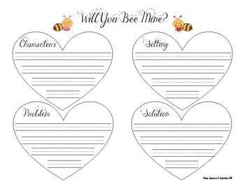 Will You Bee Mine? Graphic Organizer