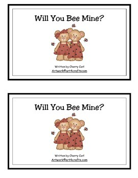 Will You Bee Mine? Guided Reader for Valentine's Day