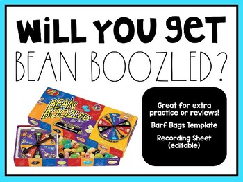 Will You Get Bean Boozled? Review Game