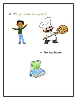 Will You Make Me a Pizza?