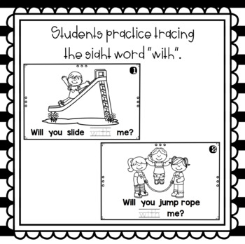 Will You Play with Me- emergent reader