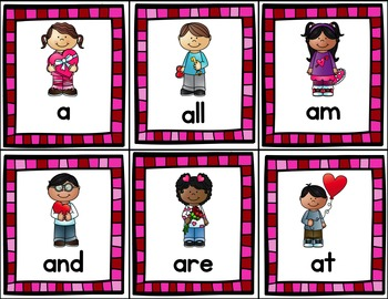 Will You Read My Valentine? (A Sight Word Game) EDITABLE Cards Included!!!