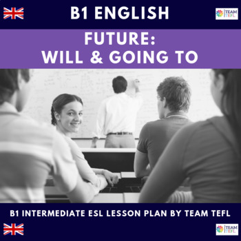 will and going to future predictions b1 intermediate lesson plan