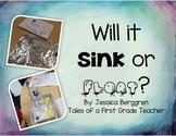 Will it Sink or Float? {an Elem. STEM unit}