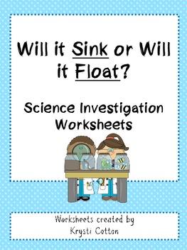 Will it Sink or Will it Float?