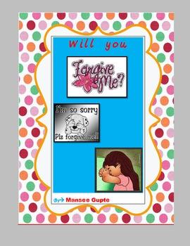 Will you forgive me?---Teaching Forgiveness