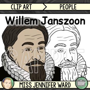 Willem Janszoon Clip Art
