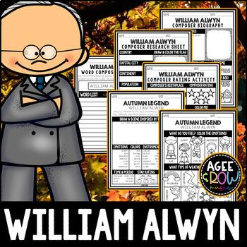 William Alwyn, November 7th Birthday, Activities, Autumn, Thanksgiving