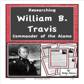 William B. Travis Research and Informative Writing