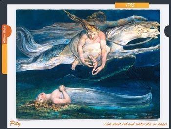 William Blake ~ Art History ~ Visionary Art ~  Poet ~ Art ~ 141 Slides