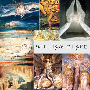 William Blake ~ FREE POSTER ~ Art History ~ Visionary Artist