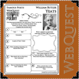 William Butler Yeats - WEBQUEST for Poetry - Famous Poet