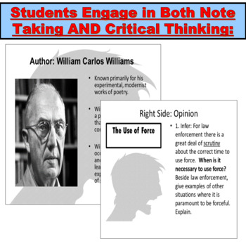 The Use of Force Short by William Carlos Williams: Introduction PowerPoint
