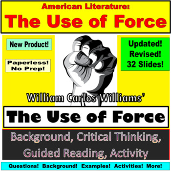 The Use of Force Short by William Carlos Williams: Introdu
