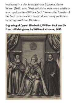 William Cecil Handout