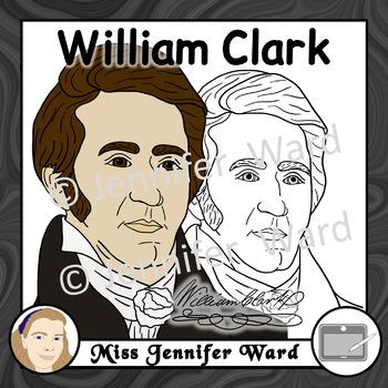 William Clark Clipart