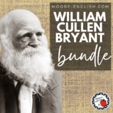 William Cullen Bryant Poetry Pack: 3 Poems, 48 pgs, 100 qu