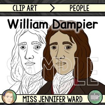 William Dampier Clip Art