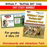 "William F. ""Buffalo Bill"" Cody - Storyboard and Activities BUNDLE"
