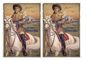 William F. Cody (Buffalo Bill) Comic Strip and Storyboard