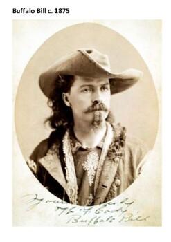 William F Cody (Buffalo Bill) Handout