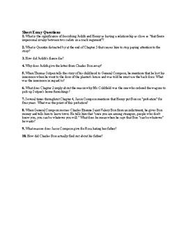 "William Faulkner'e ""The Sound and the Fury"" Final Examination (w/ Answer Key)"