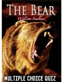 "William Faulkner's ""The Bear"" Quiz w/ Answer Key (50 Mult."