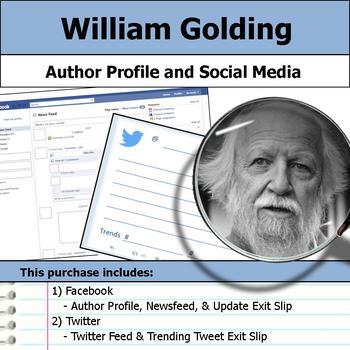 William Golding - Author Study - Profile and Social Media