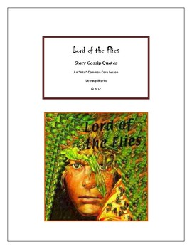 William Golding's Lord of the Flies Story Gossip Quotes Into Lesson