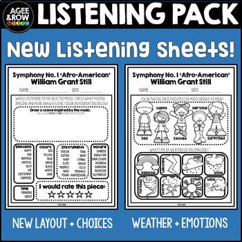 William Grant Still Classical Listening, America, Symphony,