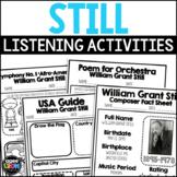 William Grant Still Composer Listening Activities, May