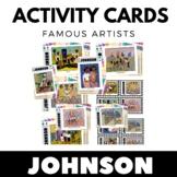 William H. Johnson - Famous Artist Activity Cards - Art Un