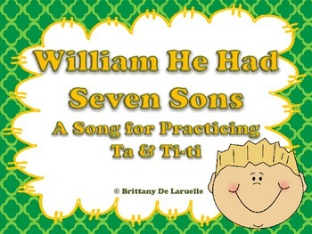 William He Had Seven Sons - A Song for Ta & Ti-ti