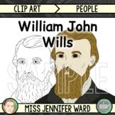 William John Wills Clip Art